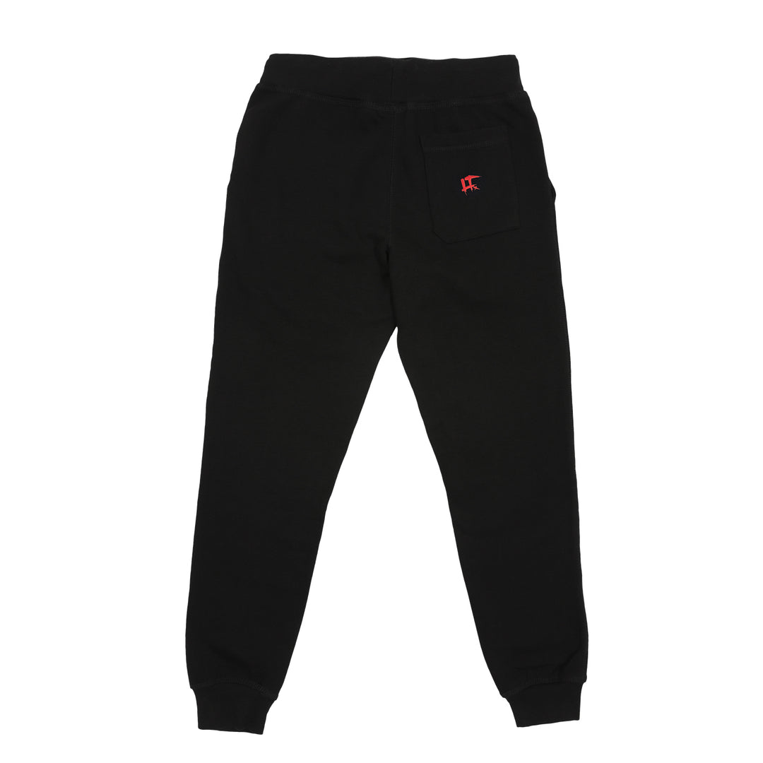 LT.ARMY™ |  THE WATCHERS PUFF SWEATPANTS (BLACK)