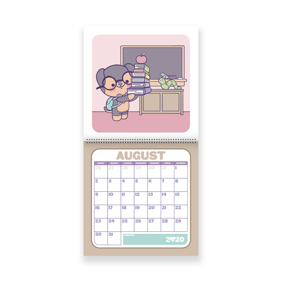 LAUREN Z SIDE® | DEXTER CHIBI CALENDAR (LIMITED EDITION)