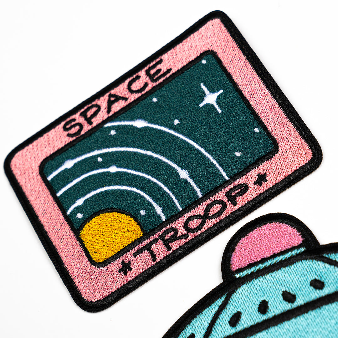 LAUREN Z SIDE® | SPACE CAMP PATCH SET (5 PATCHES)