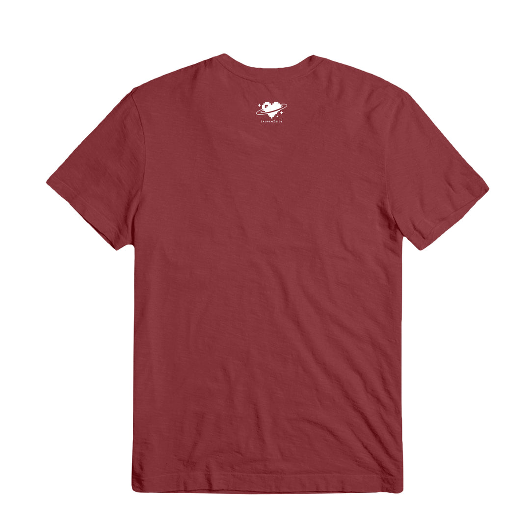 LAUREN Z SIDE® | PAW CONSTELLATION TEE (MAROON)