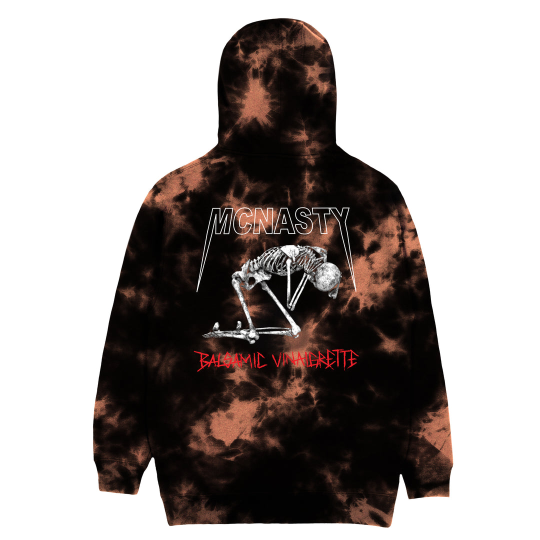 MCNASTY® | BALSAMIC VINAIGRETTE HOODIE (BLEACH DYE) LIMITED EDITION