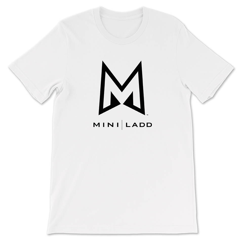 Mini Ladd ™ - Logo Tee (White)