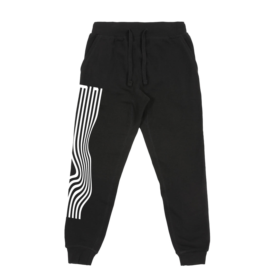 MINI LADD® | WAVY SWEATPANT (BLACK) LIMITED EDITION