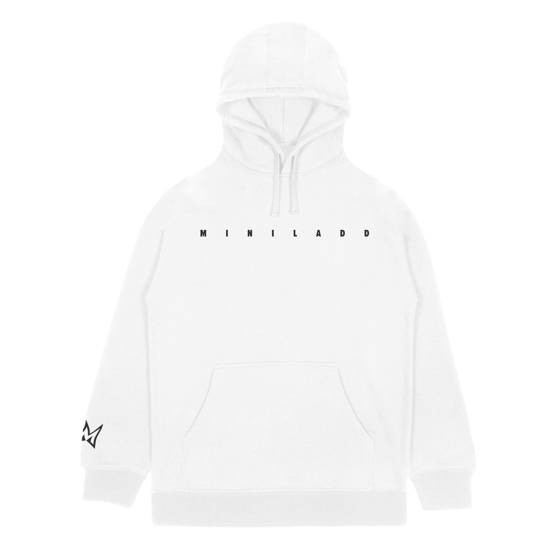 MINI LADD® | WAVY HOODIE (WHITE) LIMITED EDITION