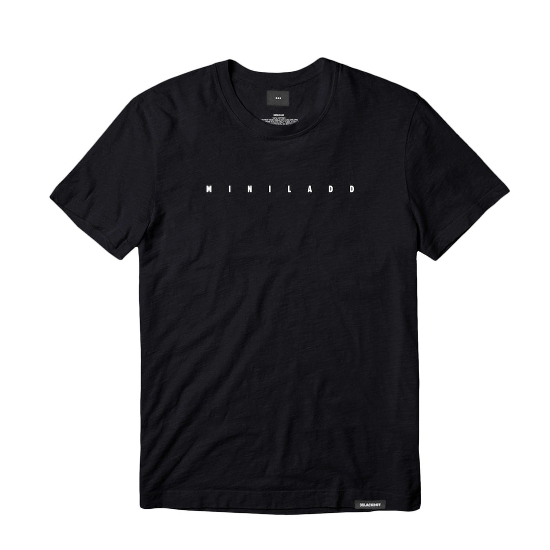 MINI LADD® | CROSSWORD TEE (BLACK)