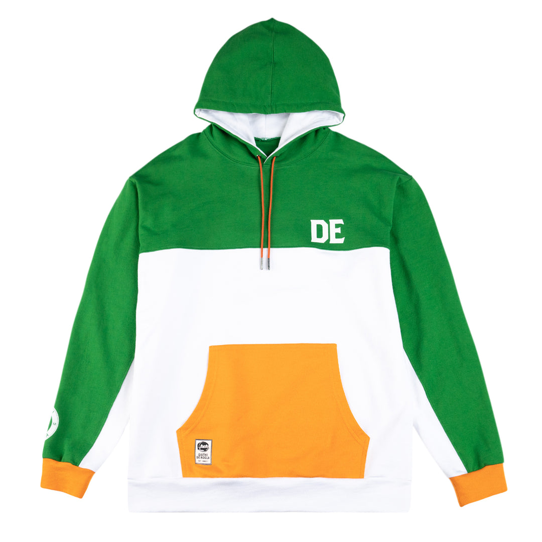 DAITHI DE NOGLA® | COLOR BLOCK HOODIE (IRISH) LIMITED EDITION