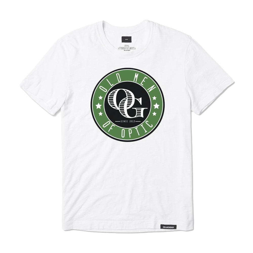 OLD MEN OF OPTIC® OG LOGO TEE (WHITE)