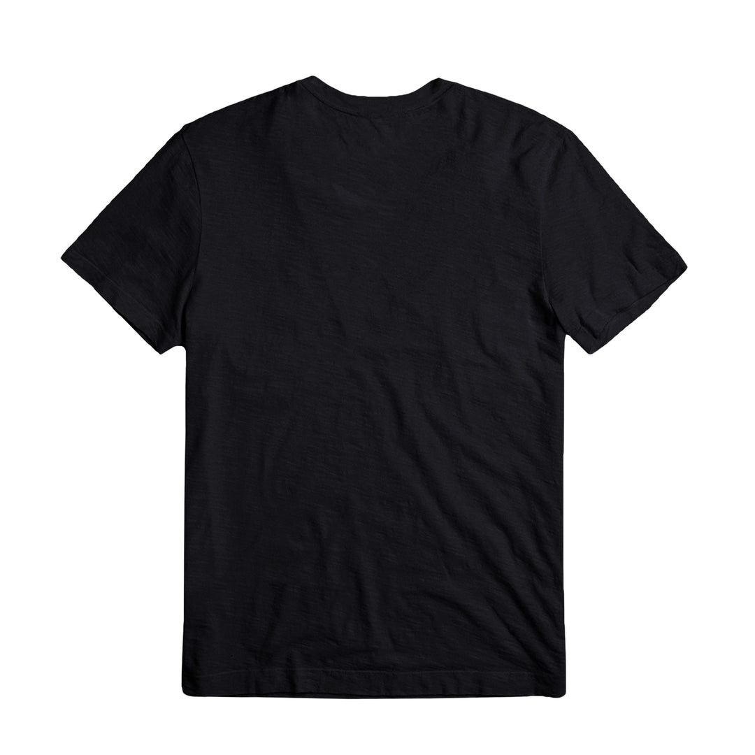 PLEASE STAND BY® | LOGO TEE (BLACK)
