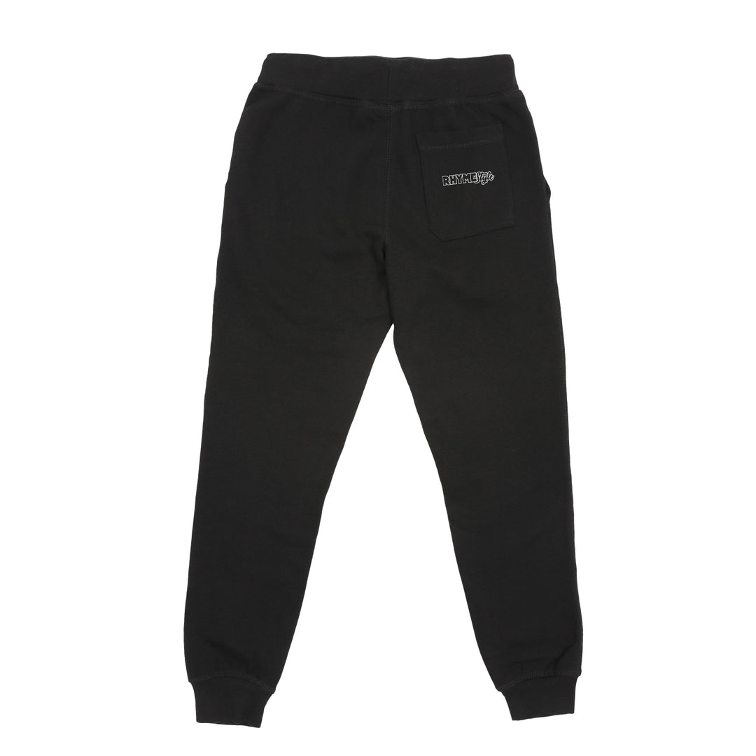 RHYMESTYLE® | HAKAI SWEATPANTS (BLACK) LIMITED EDITION