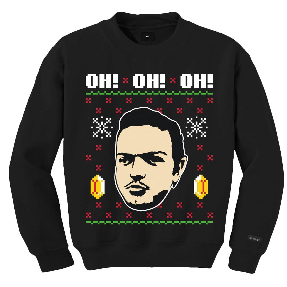 UGLY XMAS SWEATER (BLACK)