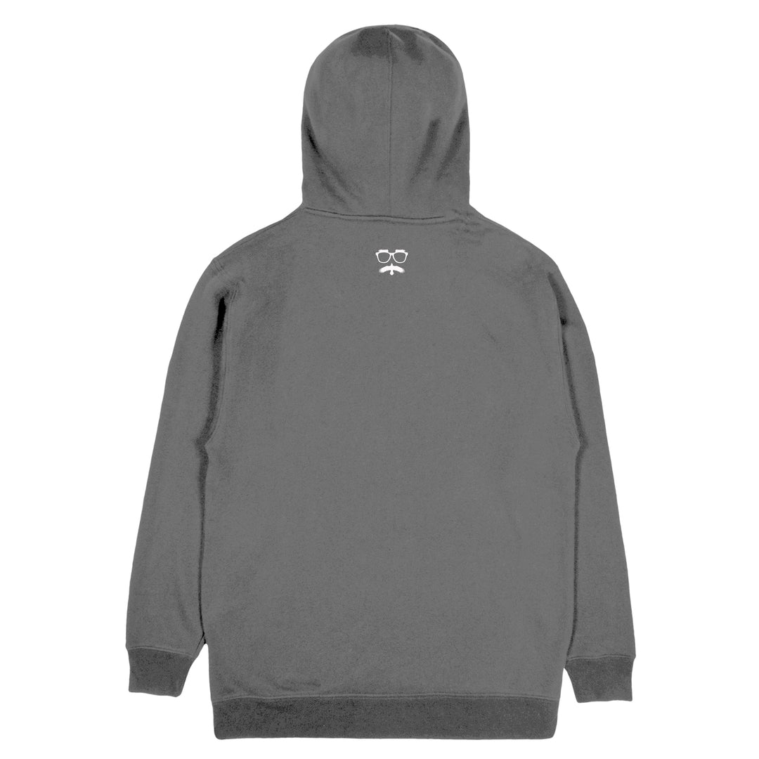 SHIPWRECKED COMEDY® | LOGO HOODIE (PIGMENT DYED BLACK)