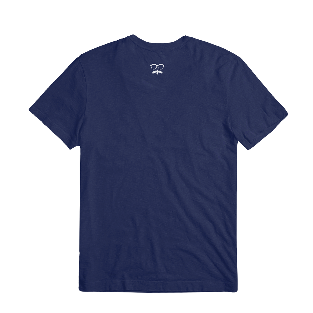 SHIPWRECKED COMEDY® | LOGO TEE (NAVY)