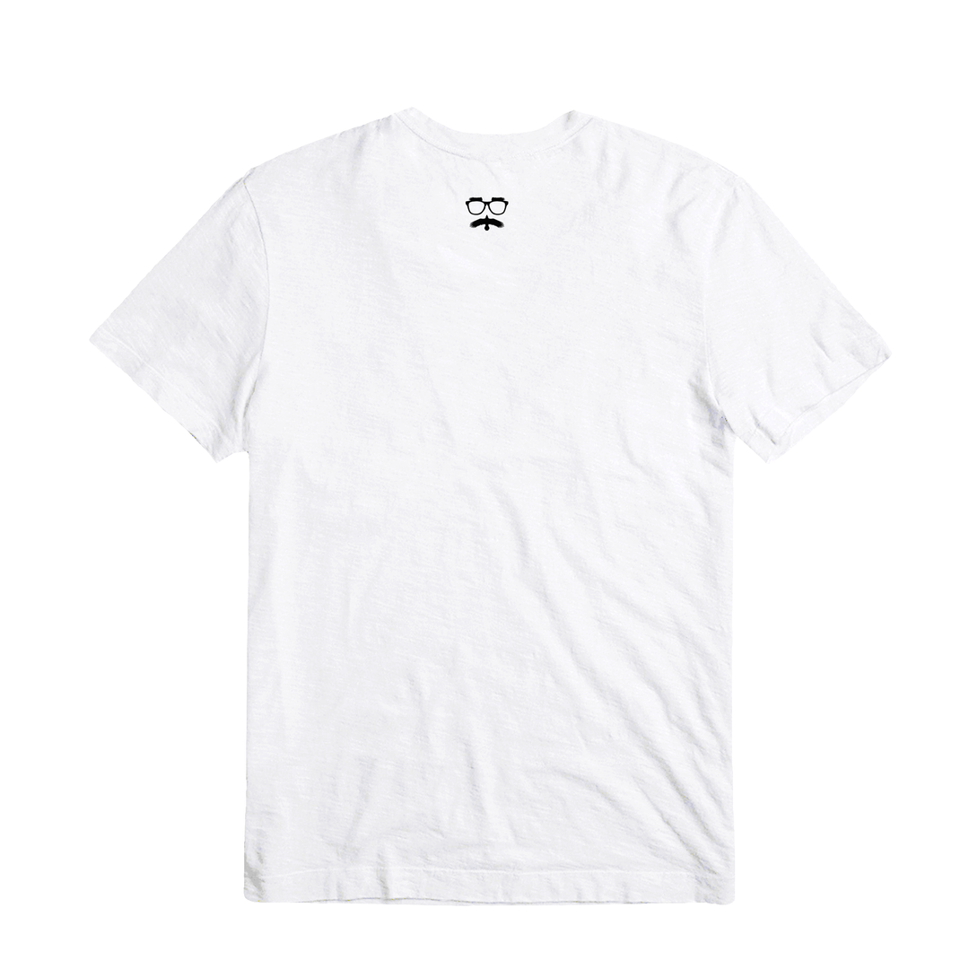 SHIPWRECKED COMEDY® | LOGO TEE (WHITE)