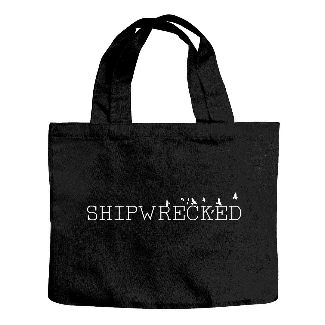 SHIPWRECKED COMEDY® | BIRDS TOTE BAG (BLACK)