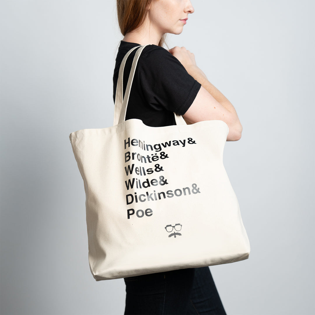 SHIPWRECKED COMEDY® | AUTHORS TOTE BAG (KHAKI)
