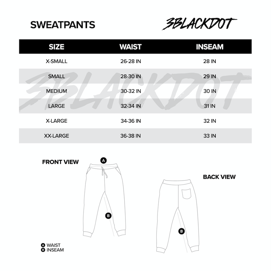 LAUREN Z SIDE® | DIGI CONSTELLATION SWEATPANT (WHITE)