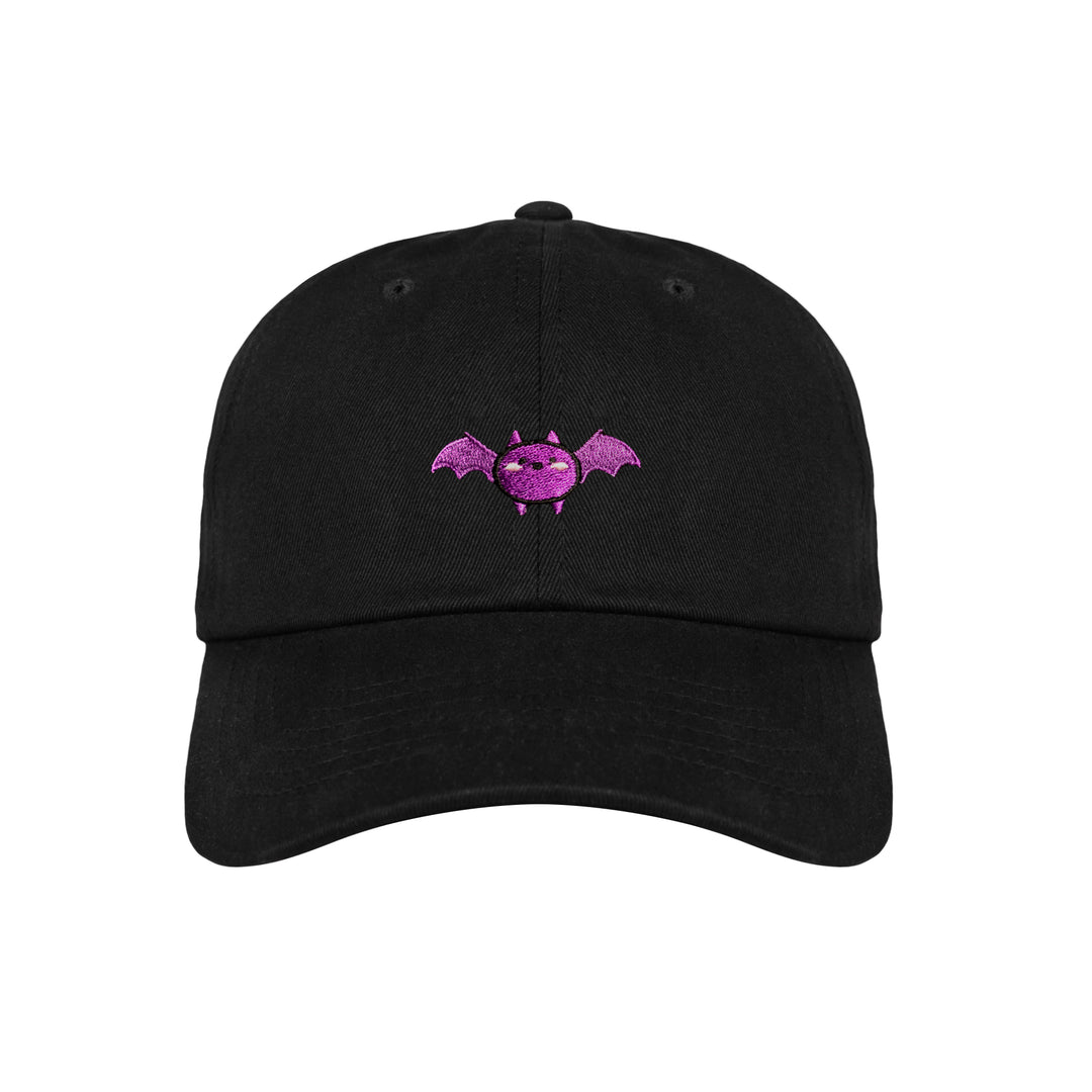 VIXELLA® | CHIBI BAT DAD HAT (BLACK)