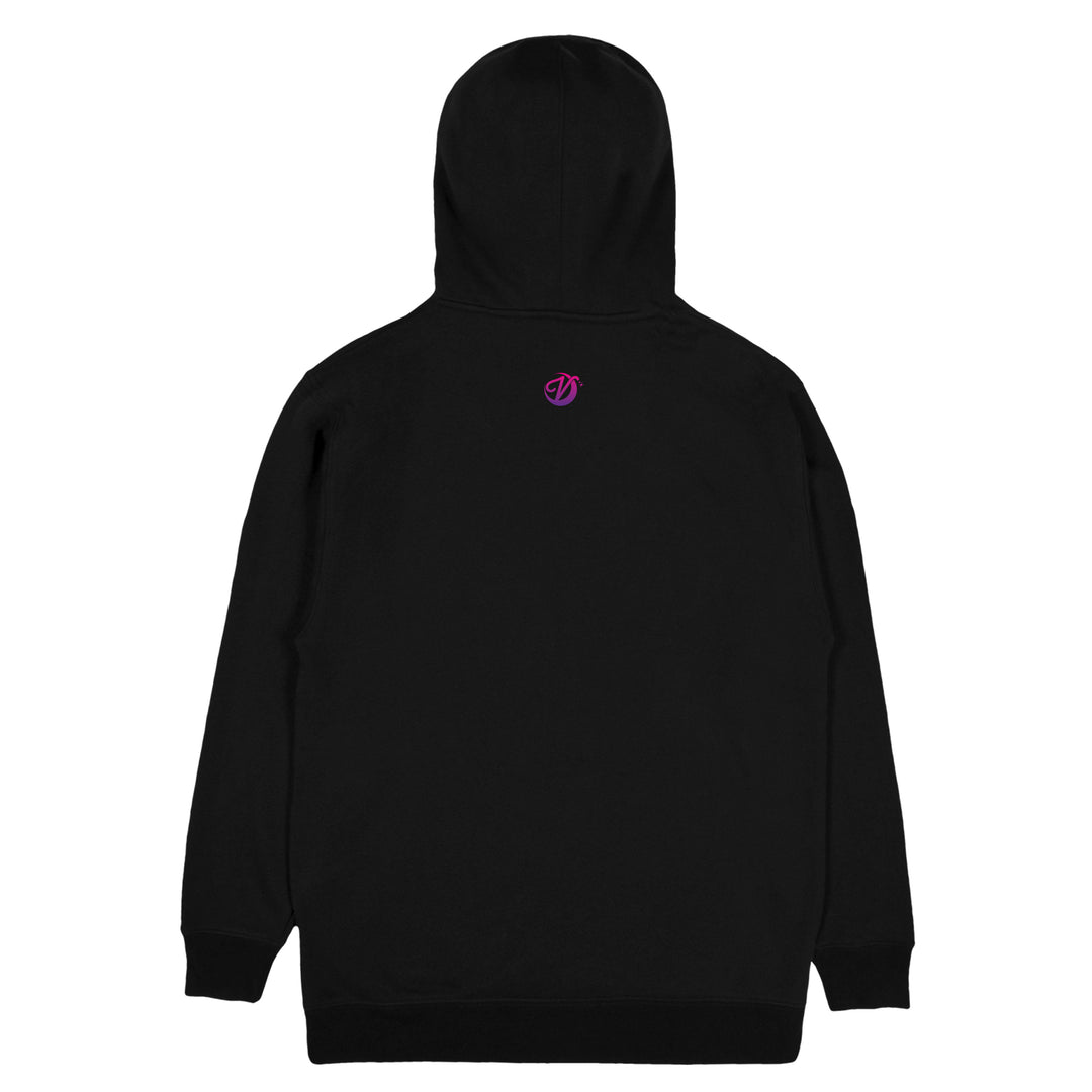 VIXELLA® | GRADIENT LOGO HOODIE (BLACK) LIMITED EDITION