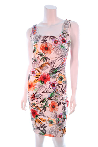 Shoulder Straps Floral Dress - Aurora Boutique Online