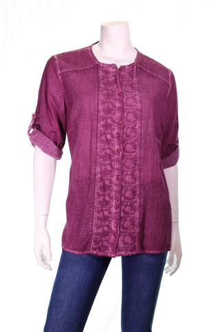 Loose Fit Button Shirt - Aurora Boutique South Africa
