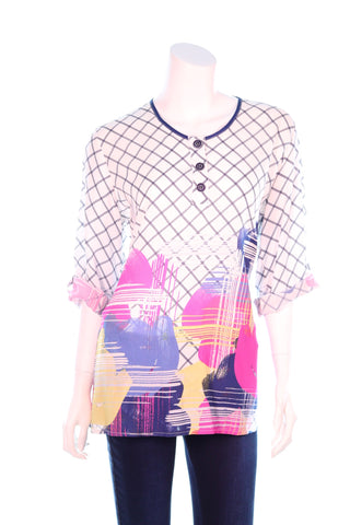 Net with Balloons Top - Aurora Boutique Online