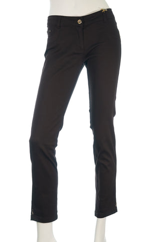 AD Zip Plain Pants - Aurora Boutique Online