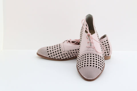 Diler Fashion 148 Square Cutout Tie Rope Shoes - Aurora Boutique South Africa