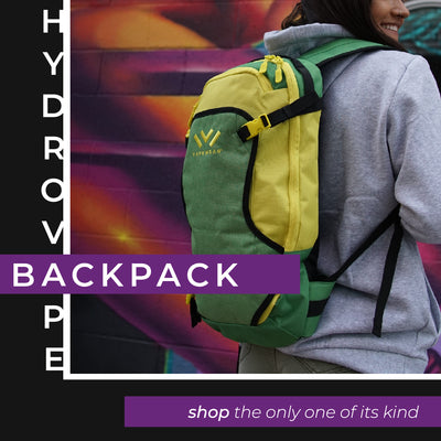 Hoodies, Backpacks and Gear with Patented Vapor Delivery System