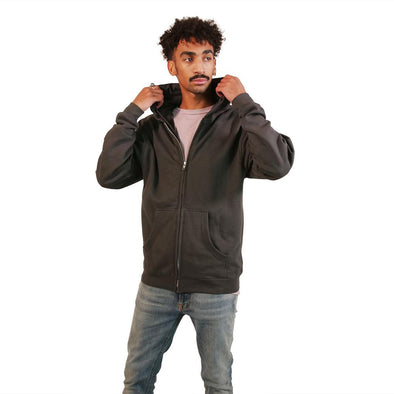 VAPRWEAR CLASSIC FULL-ZIP, VAPE-READY HOODIE Apparel Vaprwear X-SMALL CHARCOAL