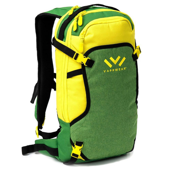VAPRWEAR HYDROVAPE BACKPACKS Apparel Vaprwear GREEN AND YELLOW