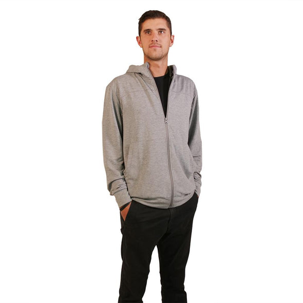 VAPRWEAR LIGHTWEIGHT STRETCH FULL-ZIP, VAPE-READY HOODIE Apparel Vaprwear