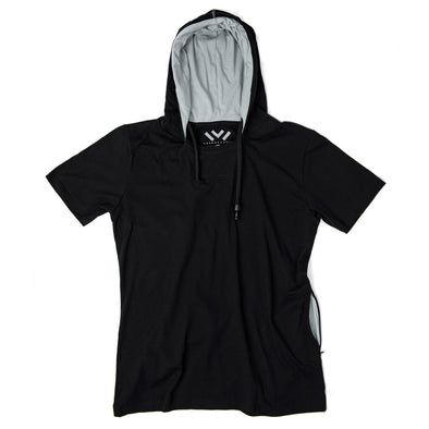 VAPRWEAR SHORT SLEEVE T-SHIRT, VAPE-READY HOODIE (BLACK) Apparel Vaprwear