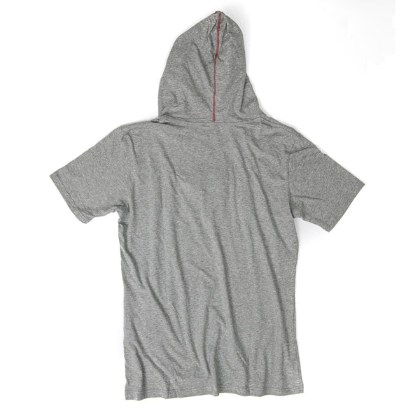 VAPRWEAR SHORT SLEEVE T-SHIRT, VAPE-READY HOODIE (GRAY) Apparel Vaprwear