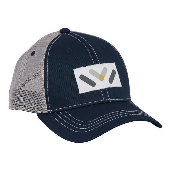 VAPRWEAR TRUCKER HATS Accessories Vaprwear Blue & Gray