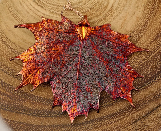 Leaf Necklaces