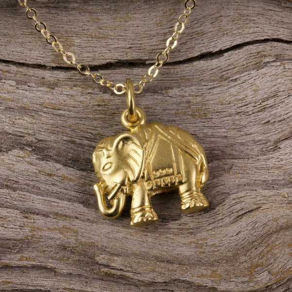 Bali Elephant Necklace