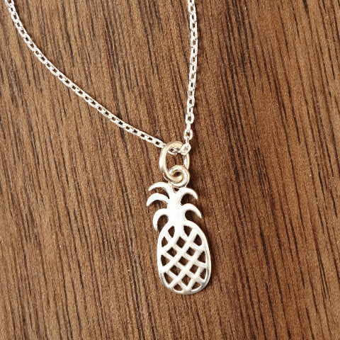Open Pineapple Necklace