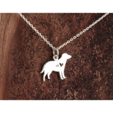 Labrador Charm Necklace
