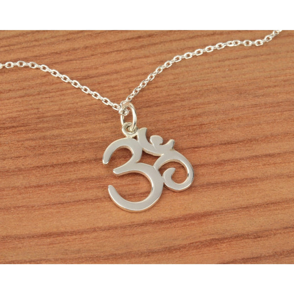 Om Cut Out Necklace