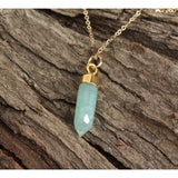 Stone Point Necklace