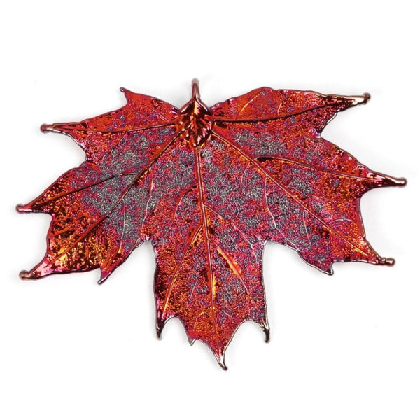 Sugar Maple Copper Leaf Necklace