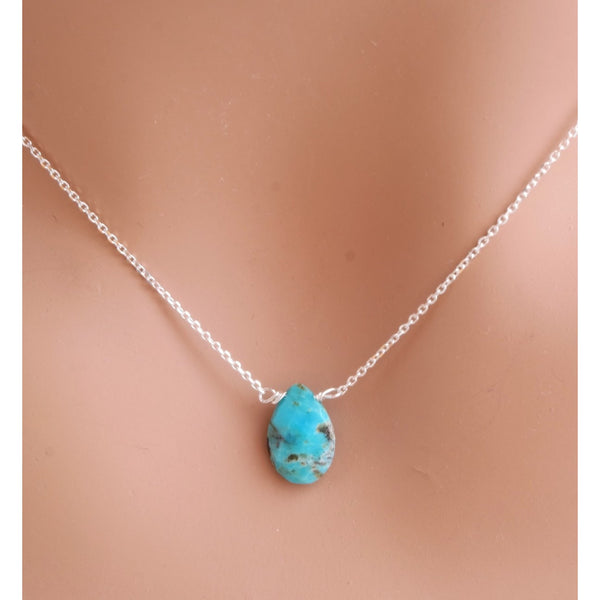 Turquoise Single Teardrop