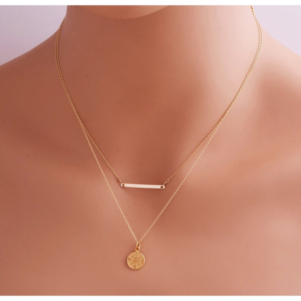 Thin Bar Necklace