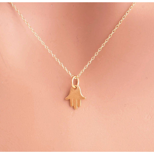 Mini Hamsa Necklace