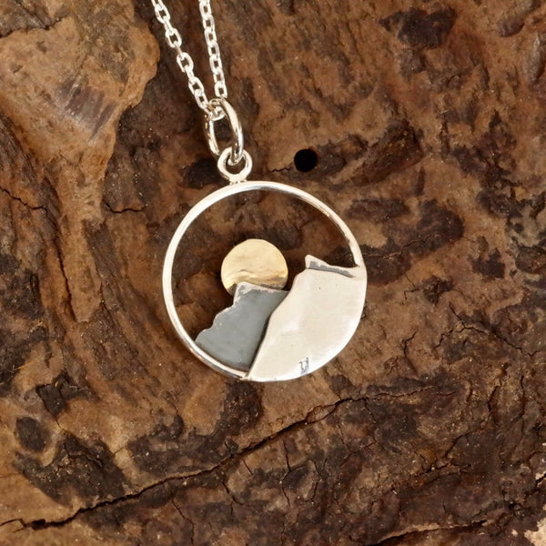 Mountain Moon Necklace