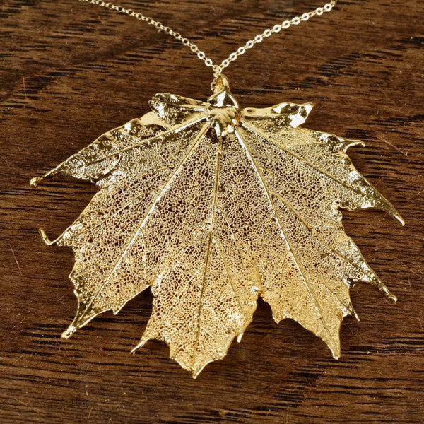 Sugar Maple Leaf Necklace