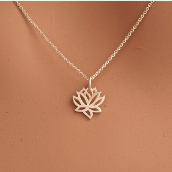 Small Lotus Necklace