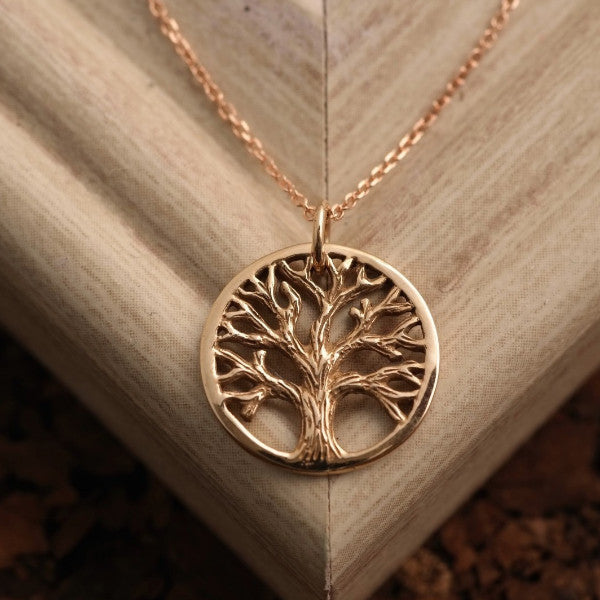 Tree of Life Cutout Necklace