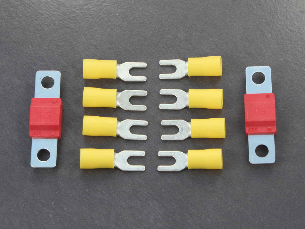 Diablo high-current connector and fuse set