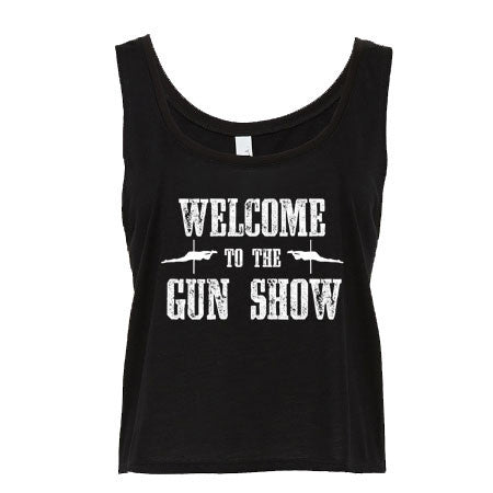 Welcome to the Gun Show Flowy Tank